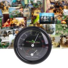 Terrarium Reptile Tortoise Vivarium Thermometer Thermo-hygrometer Humidity Gauge