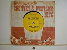 45 Vinyl Records Smokey Dawson The Willoughby Symphony Choir Fire Fightin' Man