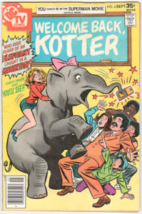 Welcome Back, Kotter DC comic book #6 Sep 1977 VG+ 4.5 Sweathogs
