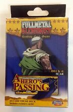 Fullmetal Alchemist Tcg A Hero's Passing 63 Card Theme Deck #4 Scar JoyRide 2006