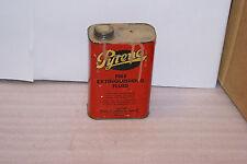 Vintage Pyrene Fire Extinguisher Refill Fluid Tin RARE