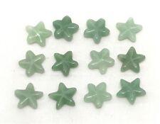Natural AVENTURINE star bead / strand 16mm(w) x 16mm(l) - 12 beads