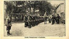 Russisch-Polen * Deutsche Bahnhofswache in Czenstochau * Bilddokument 1914