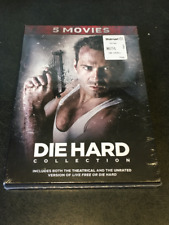 DIE HARD COLLECTION 5 MOVIE DVD SET NEW