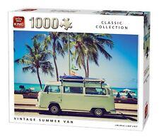 King Vintage Summer Van Jigsaw Puzzle (1000 Pieces)