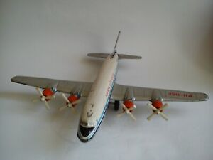 "TIN DAYA AIRPLANE MADE IN JAPAN, KLM ROYAL DUTCH AIRLINES ""SEVEN SEAS"""
