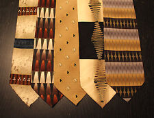 Lot of 5 NEW Dimoggio Designer Neck Ties with Patterns LD008