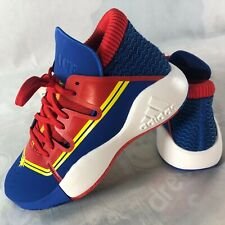 Adidas Pro Vision J Captain Marvel Avengers Youth Basketball Shoes Size 5 Nib