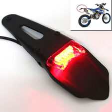 Motorcycle ABS Fender Smoke LED Brake Tail Light with stabilized circuit 12-15V