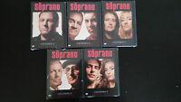 LOS SOPRANO TEMPORADA 2 - 10 EPISODIOS 5 DVD NUEVO PRECINTADO NEW SEALED
