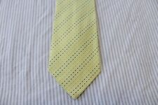 142)  NEW  ERMENEGILDO ZEGNA  MEN'S TIE 100% SILK MADE IN ITALY