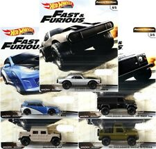 HOT WHEELS 2019 FAST AND FURIOUS RELEASE D  5 CAR SET