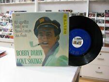 "BOBBY DARIN 7"" EP SPANISH LONG AGO AND FAR AWAY + 3. 1962 LOVE SWINGS"