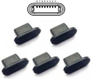 5stk Schutzstopfen Ladeanschluß Stecker Stöpsel für iPhone 12 Pro/12 Pro Max