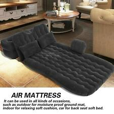 Inflatable Bed Mattress Indoor Outdoor Camping Travel Car Back Seat Air Beds