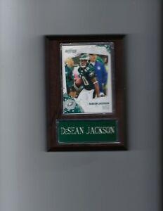 DeSEAN JACKSON PLAQUE PHILADELPHIA EAGLES FOOTBALL NFL   C