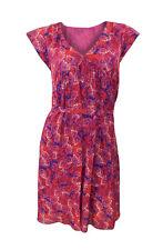 Viscose V Neck Cap Sleeve Boho, Hippie Dresses for Women