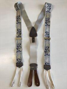 Trafalgar Calvin Curtis Limited Edition Sailboat Suspenders Braces