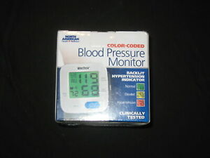wrist Color Coded Blood Pressure Monitor Factory Sealed!