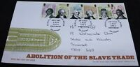 2007 Royal Mail Abolition Of The Slave Trade FDC | First Day Cover | KM Coins