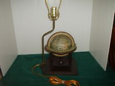Vintage Old World Zodiac Globe Lamp