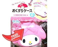 MY MELODY Sanrio  medicine pill divider case Cosmetic box DAISO JAPAN