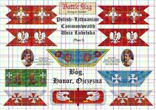 28mm  Polish Renaissance Flags by Battle Flag