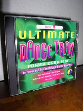 Ultimate Dance Trax - Power Club Mix by The Countdown Dance Masters -Disc 8 (CD)