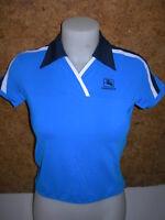 Maillot de  cyclisme,  maillot de vélo, femme, GIORDANA,bleu  en M (38/40)- A874