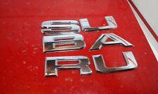 OEM 2003-2005 Subaru Forester Rear Lift Gate Letter Nameplate Emblem 91174SA010