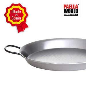 Paella-Pfanne Stahl poliert, in 20 Größen verfügbar