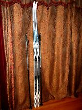 NEW - CROSS COUNTRY SKIS w Poles & Bindings - FISCHER Summit Crown -Size 207