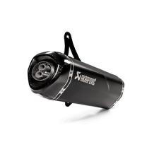 Akrapovic Slip-On Linea Ss Black Vespa GTS 125/150/250/300 , GTV250/300 Incl.