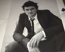 Orlando Bloom B&W Actor Hand Signed 11x14 Photo Autographed W/COA Proof