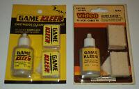 Sammler 1980s NES Game Kleen Nintendo Cleaning Refill Kit OVP complete 2x set
