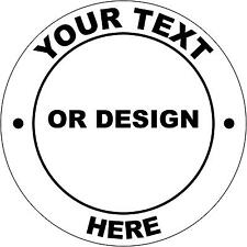 Hard Hat Your Text Or Design Here Sticker Sign Decal Public WHS OHS