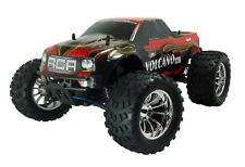 NEW REDCAT Volcano S30 1/10 Scale Nitro Monster Truck 2.4GHz - RED/FLAME