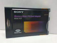 Sony Pcmcia Memory Stick Reader / Pc Card Adapter Msac-Pc2