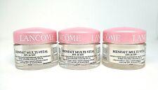Lot of 3 Lancome Bienfait Multi-Vital  Daily Moisturizing Cream ~ 0.5 oz x 3 ~