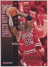 1996-97 HOOPS CAREER BEST GAME SUBSET CARD: MICHAEL JORDAN #335 TOP SCORE 63pts