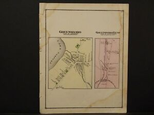 Vermont, Orleans County Map 1878, Greenshore, K1#06