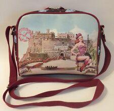 Ness Purse Scotland Girl Kilt Bagpipes Castle Adjustable Cross Body Shoulder Bag