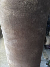 Handmade Carpet Remnant Roll End Viscose Elegance Silver Brown 4x2.10m RRP£900