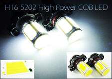 2x COB 6 Panel LED H16 5202 For 09-13 AUDI A3 DRL Daytime Running Light 36W Bulb