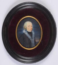 """""""Senior Officer of Dutch Black Hussars (Huzaren van Heeckeren)"""" miniature 1792/3"""