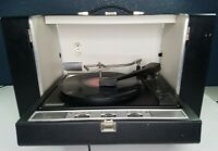 General Electric GE Solid State Turntable Speakers Portable Vinyl Record Player
