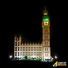 LIGHT MY BRICKS - LED Light kit for LEGO Big Ben 10253 Light Up Lego Big Ben