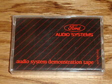 Original 1987 Ford Audio System Demonstration Tape New Sealed 87