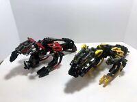 LEGO Bionicle: Muaka & Kane-Ra 8538 - Uber rare.  Good condition.