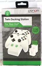 Venom Microsoft Xbox One Twin Docking Station Two Rechargeable Battery Packs New